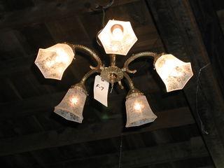 F-7 chandelier