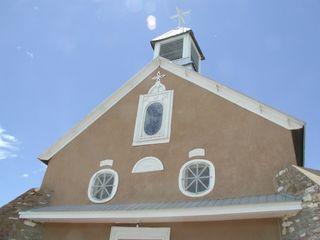 Galisteo church
