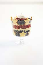 Stars and stripes trifle
