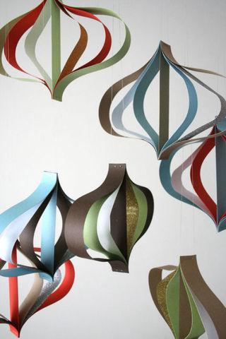 3D design sponge ornaments