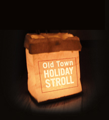 Holiday Stroll luminaria