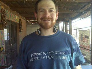 Chris' shirt