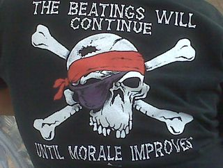 Morale t-shirt