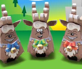 FlippyFaces reindeer