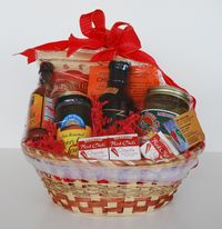 Fiery Foods gift basket