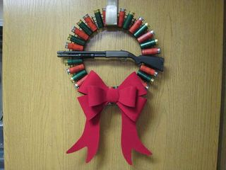 Shotgun-Shell-Wreath