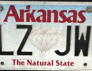 Natural state license plate