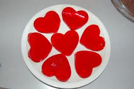 Jello hearts