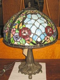 Pattin Auction lamp